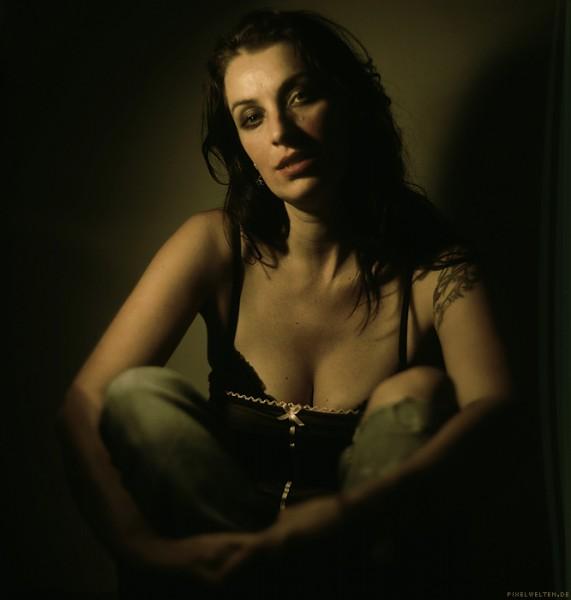 portrait of a singer