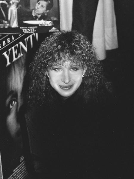 Portrait of Barbra Streisand 1983